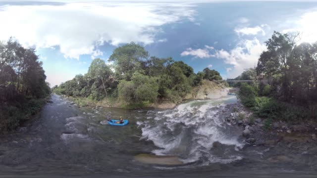 drone rafting république dominicaine - dominican republic stock videos and b-roll footage