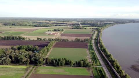 drone railway in ontario canadian - ontario canada stock videos & royalty-free footage