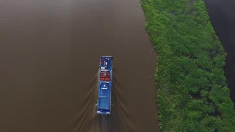 vídeos y material grabado en eventos de stock de drone series near manaus, brazil - región del amazonas