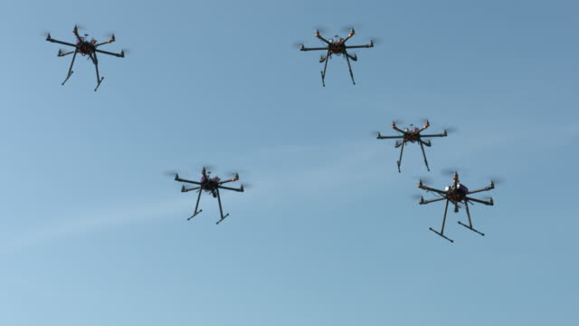 drone series - swarm of insects stock videos & royalty-free footage