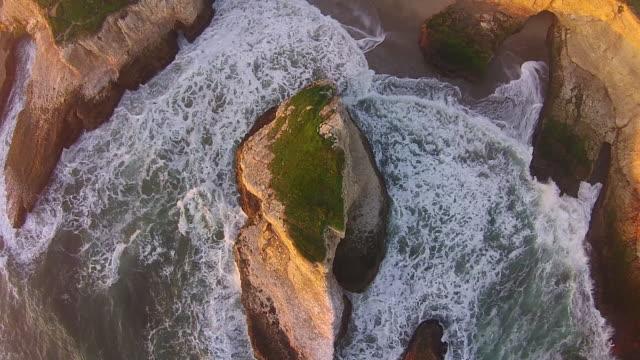 Drone Shot High Down: Shark Tooth Cove