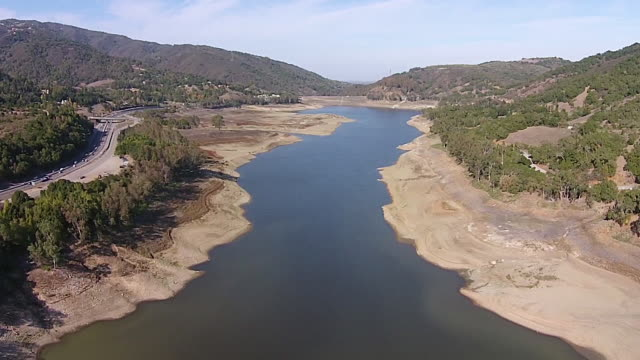Drone Shot High: Lexington Reservoir