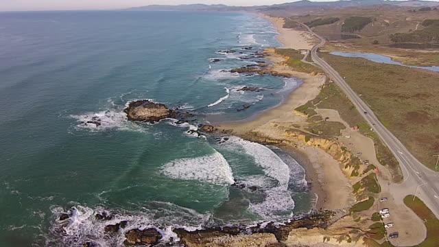 Drone Shot High: Pescadero SB