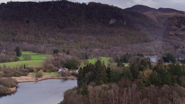 Drone Shot of Derwent Water