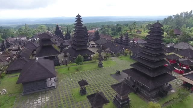 drone shot - ubud district stock videos & royalty-free footage