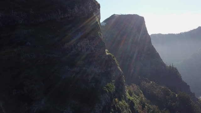 drone shots of madeira - natural parkland stock videos & royalty-free footage