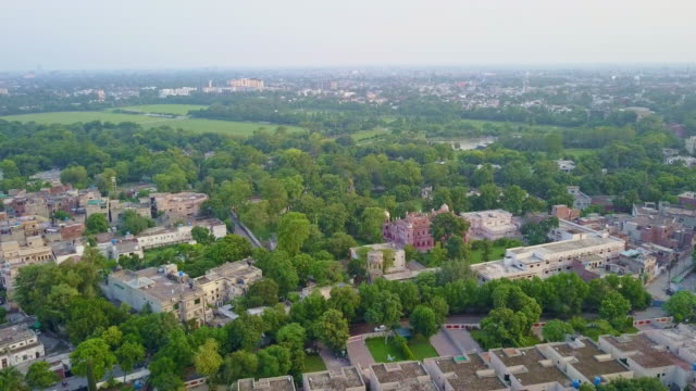 drone video of lahore, pakistan - lahore pakistan stock videos & royalty-free footage