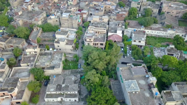 vídeos y material grabado en eventos de stock de drone video of lahore, pakistan - pakistán