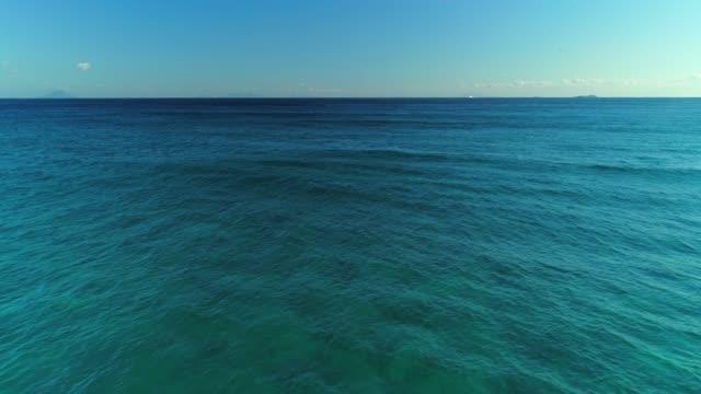 Drone view of coastline