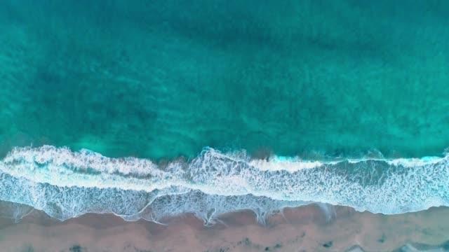 海岸線のドローン ビュー - 楽園点の映像素材/bロール