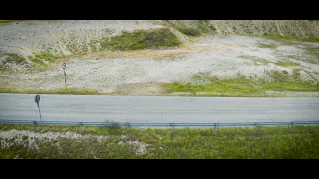 A Drone View of Fonte Vetica during the Gran Fondo Alte Cime d'Abruzzo in Castel Del Monte L'Aquila on July 2 2018