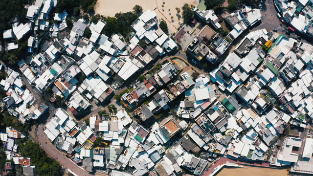 stockvideo's en b-roll-footage met drone weergave van shek o, hong kong island - plaatselijk monument