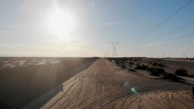 drone view of the international border wall dividing arizona and california from mexico - international border stock videos & royalty-free footage