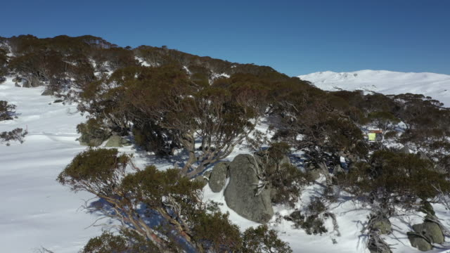 drone vision of australian alps back country - australian alps stock videos & royalty-free footage