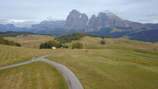 Drones: An Aerial Road Trip at Dolomites