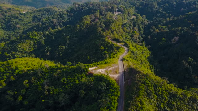 Drohnen: Eine Antenne Road Trip