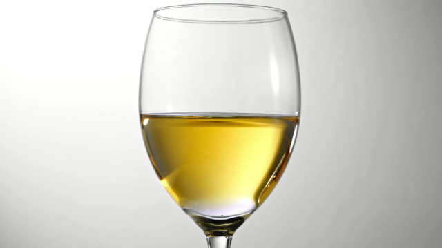 Drop of White Wine