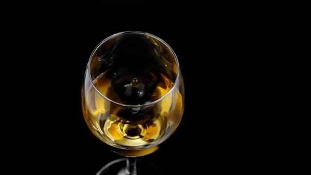 Drop von Weißwein