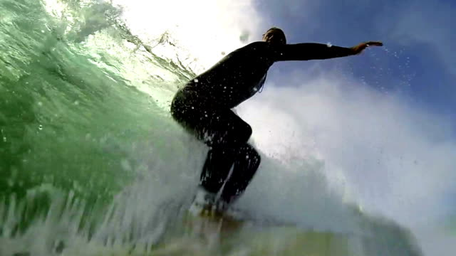 stockvideo's en b-roll-footage met drop - surfen