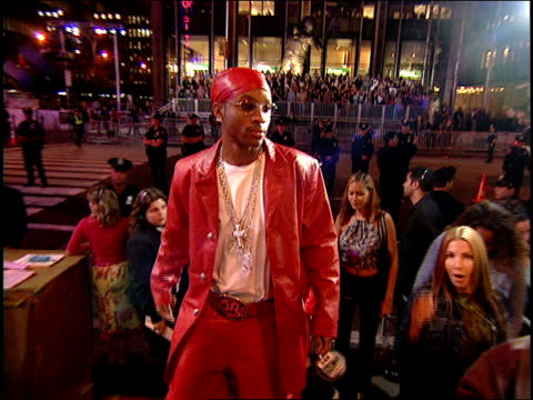 dru hill arriving to the 2000 mtv video music awards red carpet - 2000 stock videos & royalty-free footage