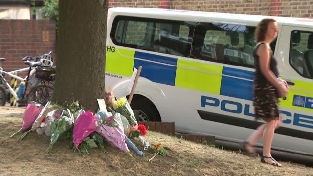 drug addict who mowed down child actor and aunt is jailed for 12 years t01091617 / women along to lay floral tributes at scene of crash various of... - aunt stock videos and b-roll footage