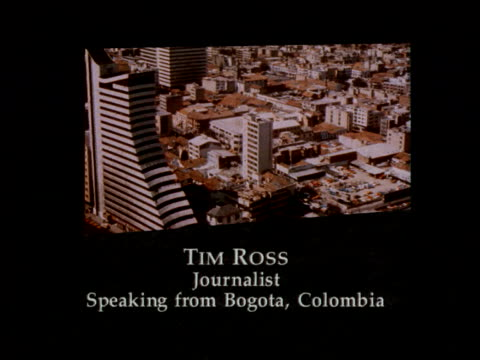 pablo escobar prison escape and surrender offer itn bogota tim ross sof 31 prison guards have been arrested/ the governor dismissed and commander of... - cocaine stock videos and b-roll footage