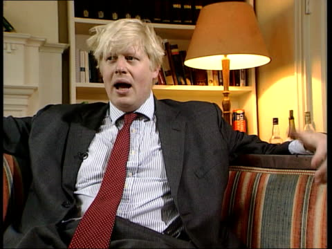 attitudes to cannabis decriminalisation itn london boris johnson interviewed sot government is becoming out of touch with what people are doing have... - boris johnson stock videos and b-roll footage