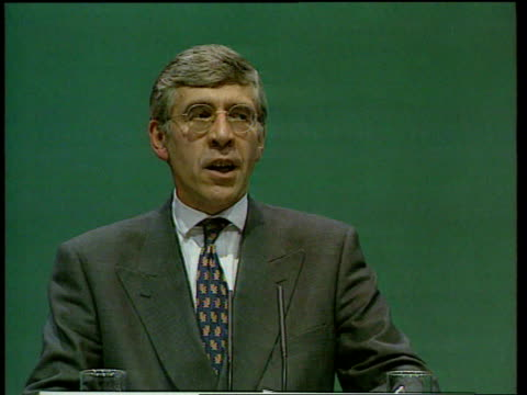 cabinet minister's son lib england blackpool police station jack straw mp chatting with police and looking at confiscated weapons lib sussex brighton... - jack straw stock videos & royalty-free footage
