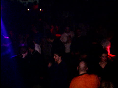 CZAR / Drugs death LIB Ministry of Sound People dancing in club Images on screen