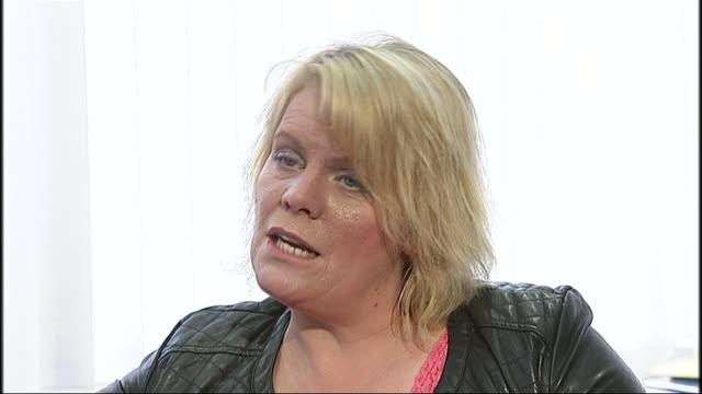 government to criminalise legal highs karen audino interview sot - itvイブニングニュース点の映像素材/bロール