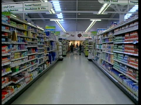supermarkets drop medicine prices london david sharpe interviewed sot pharmacies will slowly close and in long term public are going to be... - comment box stock videos & royalty-free footage