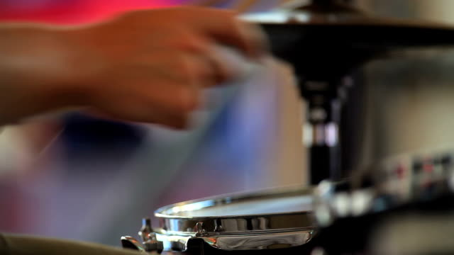 HD Drummer at Work