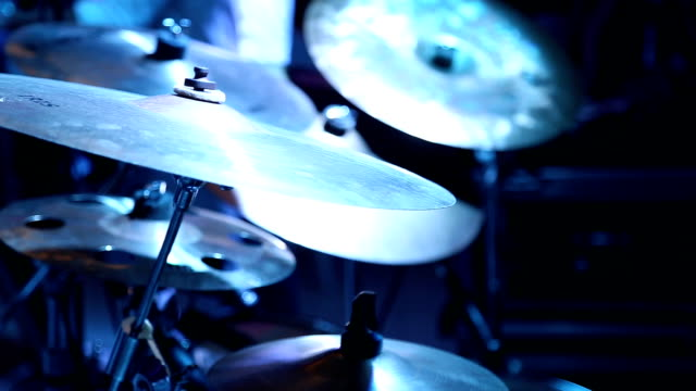 drummer performance - cymbal stock videos and b-roll footage
