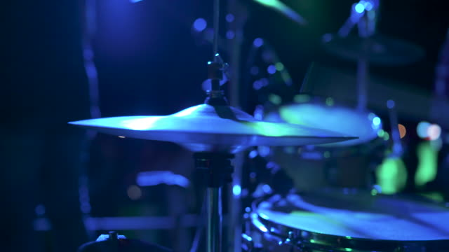 drummer playing stock video - jazz video stock e b–roll