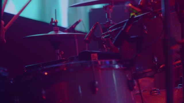 drummer playing - rocking stock videos & royalty-free footage