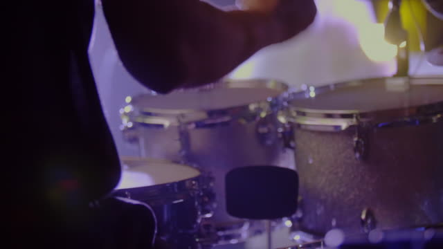 drummer playing - drum kit stock videos & royalty-free footage
