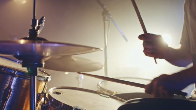 drummer playing - rock stock videos & royalty-free footage