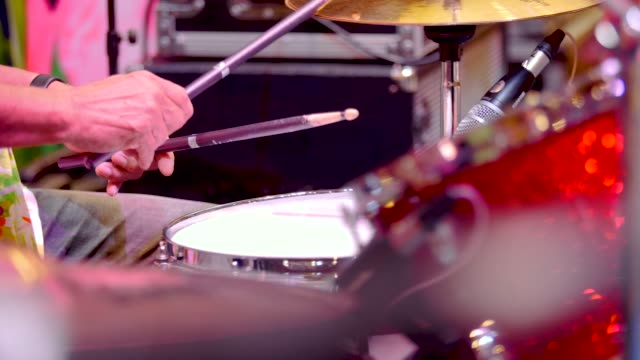 drummer playing - cymbal stock videos and b-roll footage