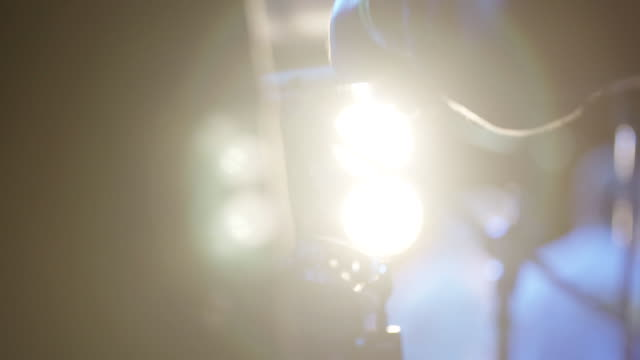 drummer plays drums in slow motion, close up lens flare - drummer stock videos & royalty-free footage