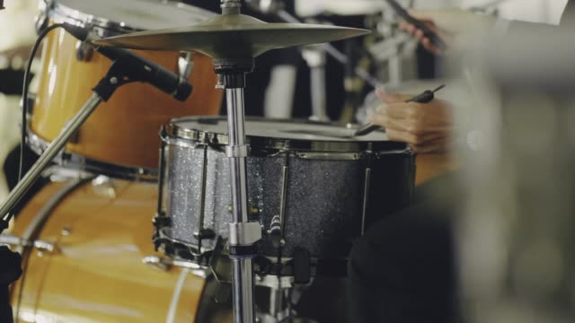drummer taking solo in concert - soul music stock videos & royalty-free footage