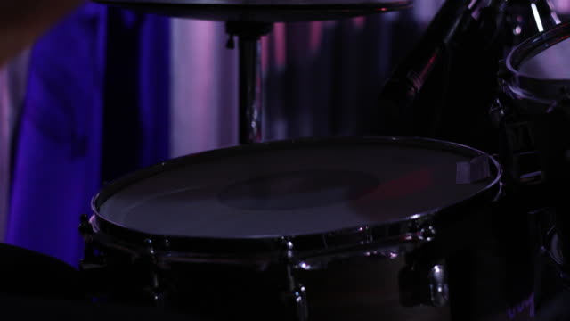 drummer taking solo in concert - solo performance stock videos and b-roll footage