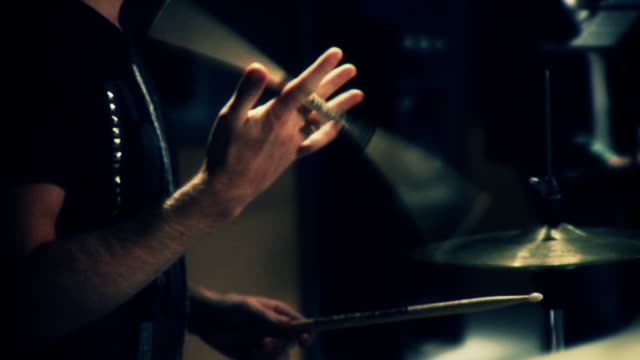 drums - drummer stock videos & royalty-free footage