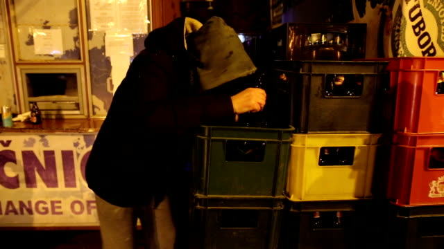 drunk man outdoors - drunk stock videos & royalty-free footage