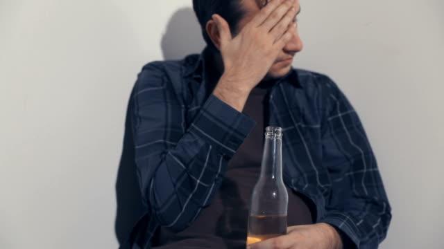 drunk man - weakness stock videos & royalty-free footage