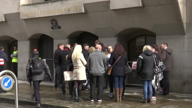 Drunkdriver pleads guilty to killing three teenage boys in Hayes Old Bailey Family and friends gathered outside court