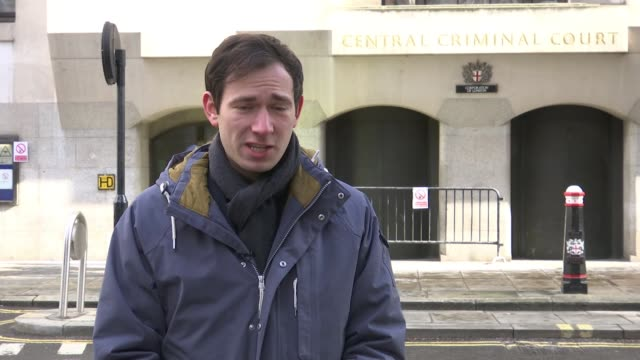 Drunkdriver pleads guilty to killing three teenage boys in Hayes Old Bailey EXT Reporter to camera