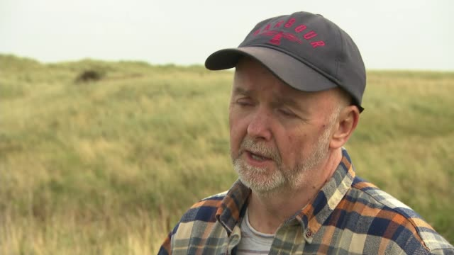 druridge bay campaigners halt coal mine plans as citizens assembly publish climate change recommendations; uk, northumberland; gvs druridge bay /... - dolphin stock videos & royalty-free footage