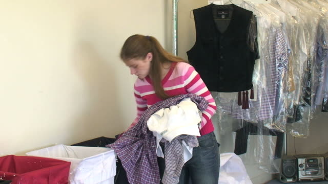 dry cleaning - division stock videos & royalty-free footage