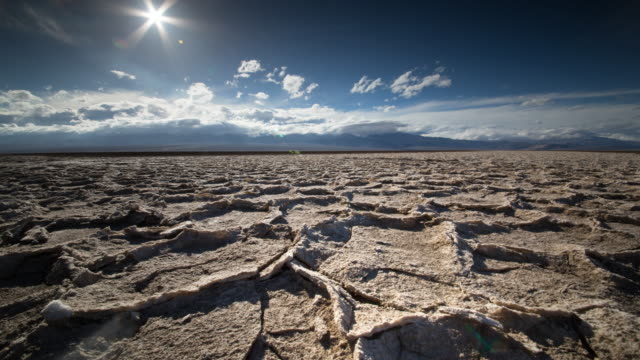 dry cracked earth - death valley national park stock videos & royalty-free footage