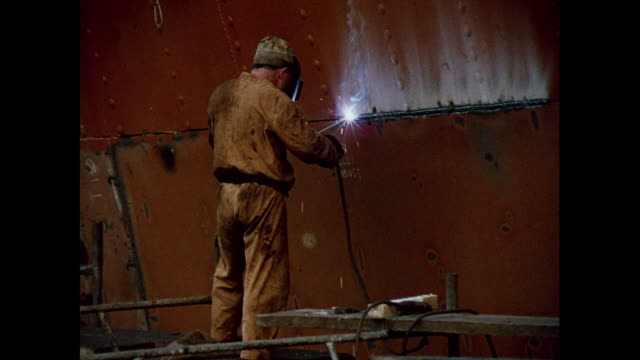 montage dry dock repairs and metalworkers in malta - dry dock stock videos & royalty-free footage
